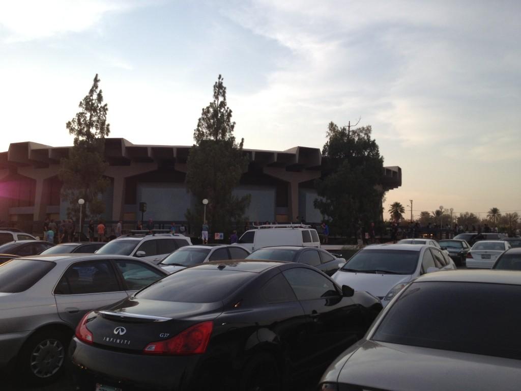 Celebrity Parking East