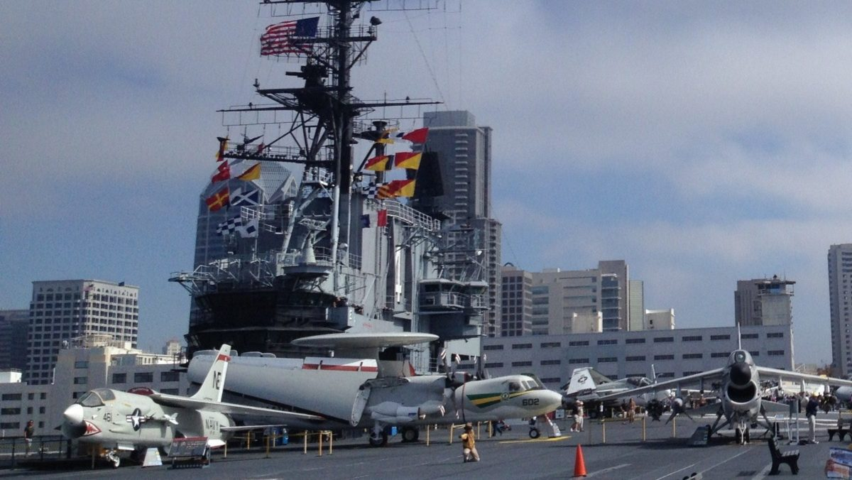 USS Midway Museum Historic Naval Aircraft Carrier, Floating Treasure in San Diego, California