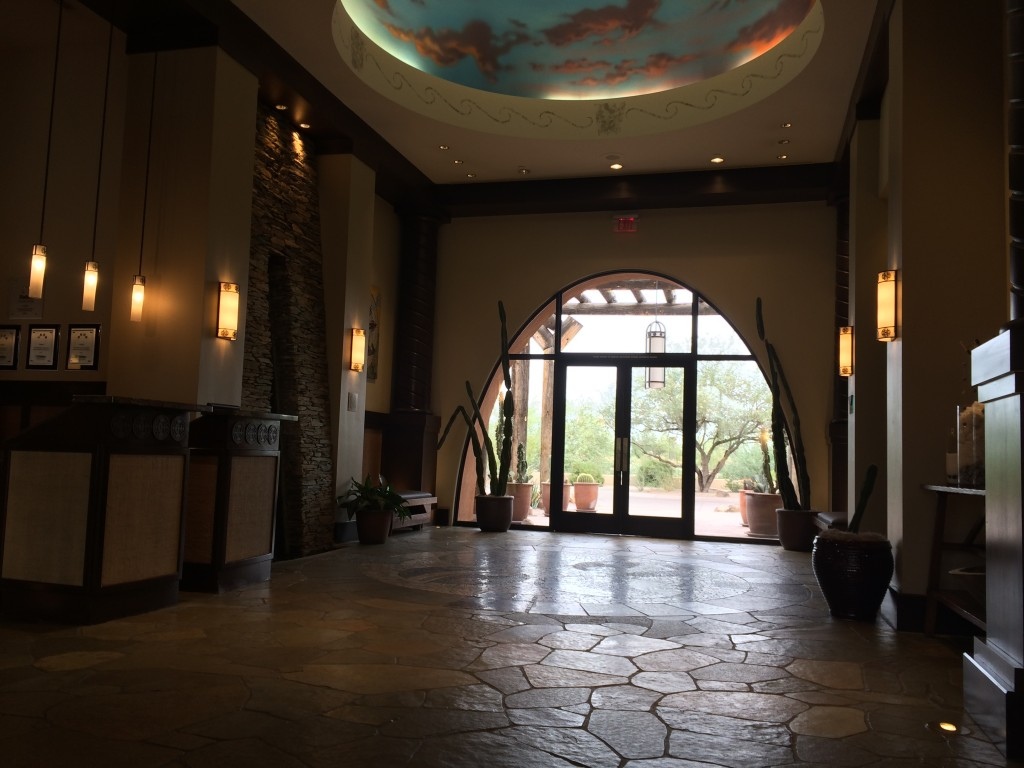 Aji Spa entrance