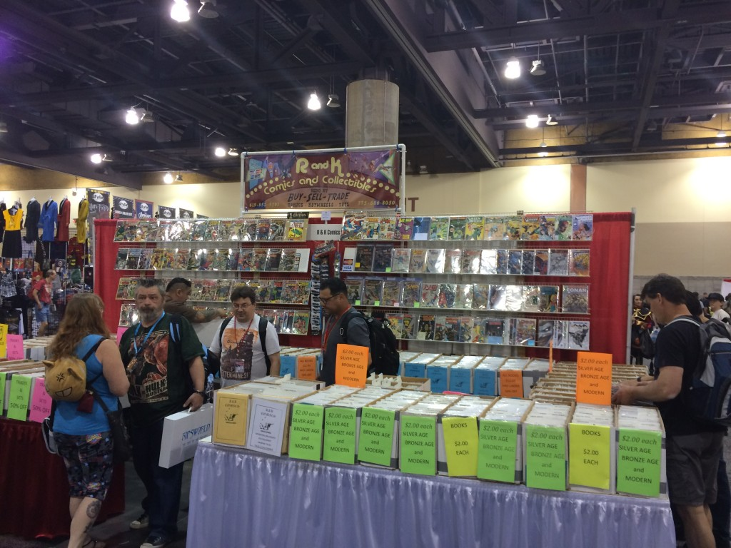 Comic books and collectibles at Phoenix Comicon