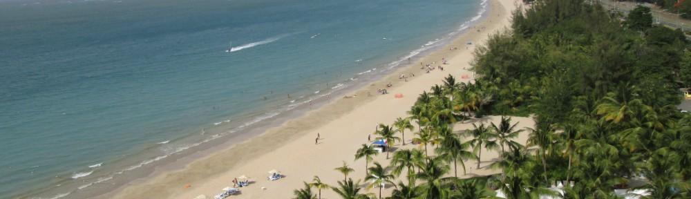 Beach getaway in Isla Verde, Puerto Rico