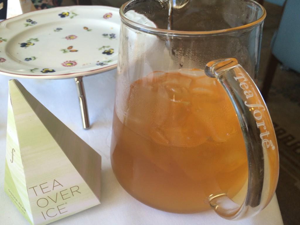 Tea Forte iced tea