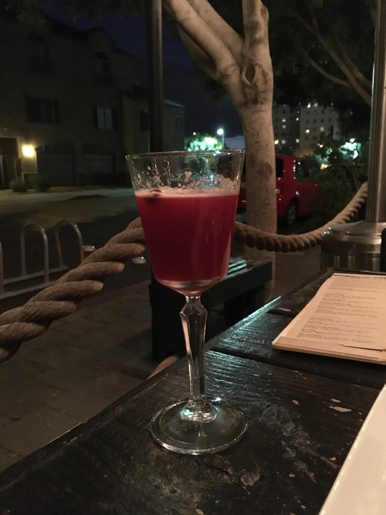 Velvet & Vinyl cocktail