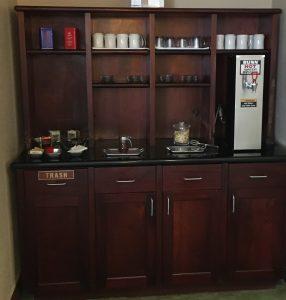 Tea Prep Cabinet