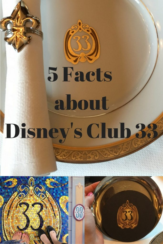 5 Facts about Disney Club 33