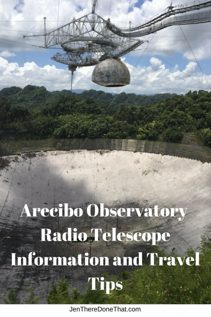Arecibo Observatory Radio Telescope Information Travel Tips