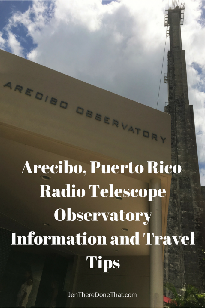 Arecibo Radio Telescope Observatory Information Travel Tips
