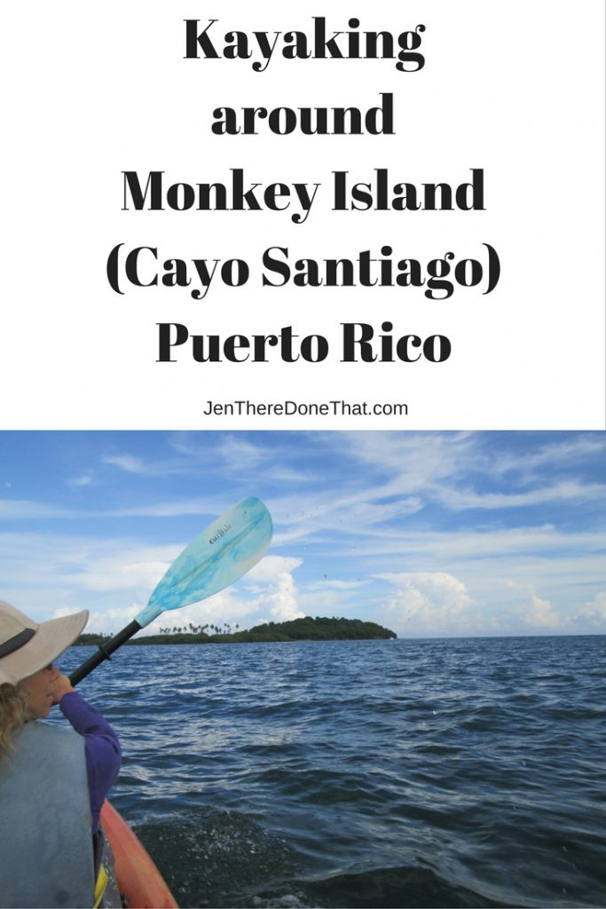 Kayaking around Monkey Island (Cayo Santiago) Puerto Rico