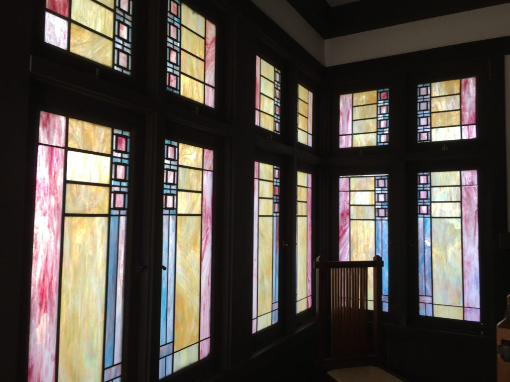 Casa Roig Stained Glass Windows
