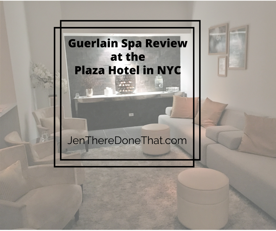 Guerlain Spa Review Plaza Hotel in NYC