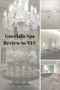 Guerlain Spa Review in NYC