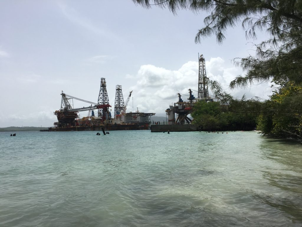 Ceiba Ship Recycling Rig