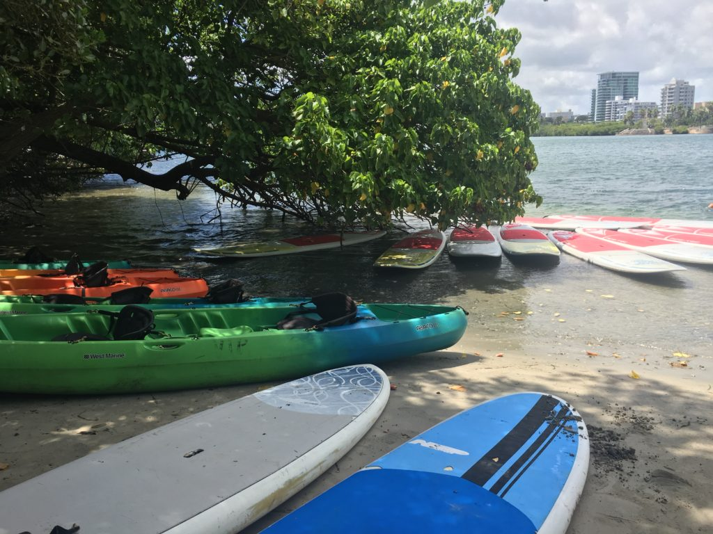 SUP and Kayak rentals available in Condado Lagoon