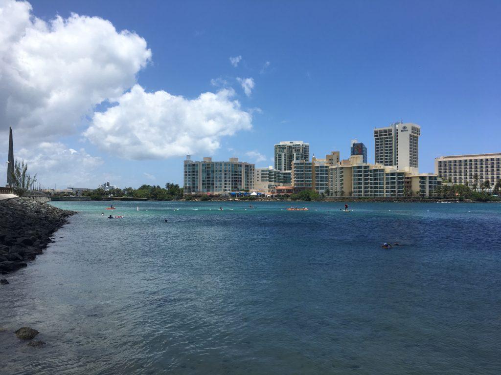 Condado Lagoon San Juan Skyline