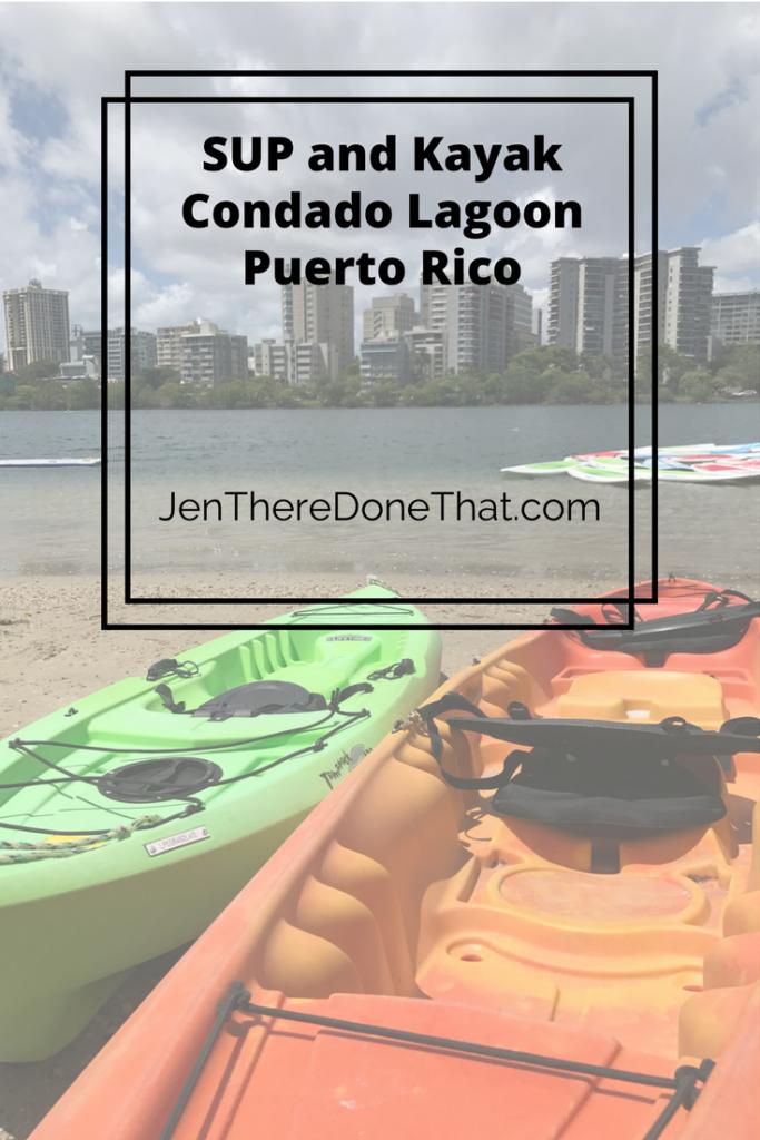 SUP and Kayak Condado Lagoon Puerto Rico