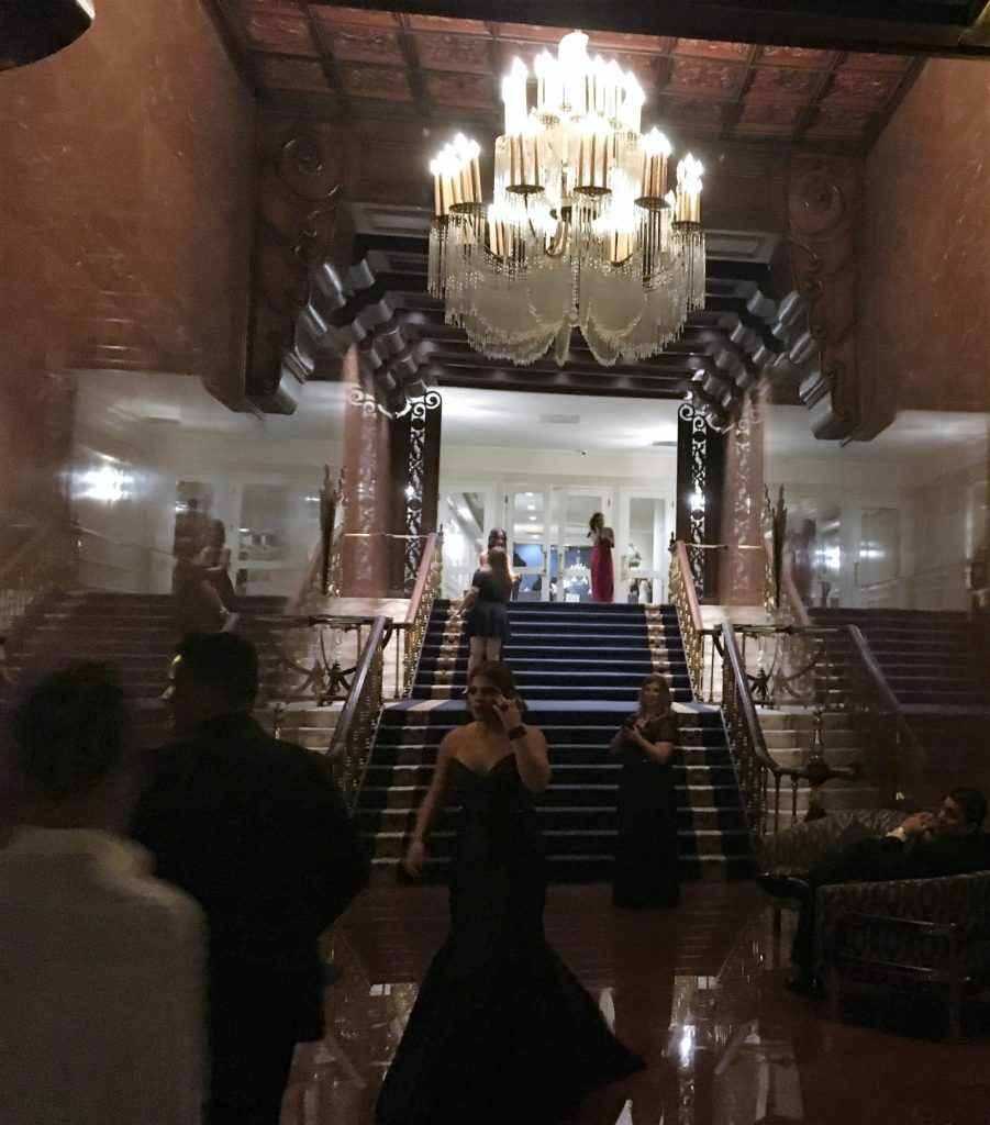 Grand entrance at the El San Juan