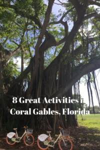 Great Activities in Coral Gables, Florida