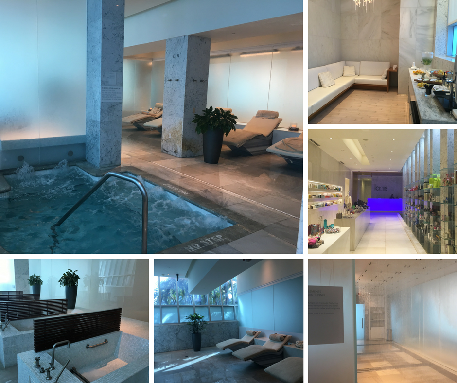 Lapis Spa Amenities at Fontainebleau resort Miami, Florida