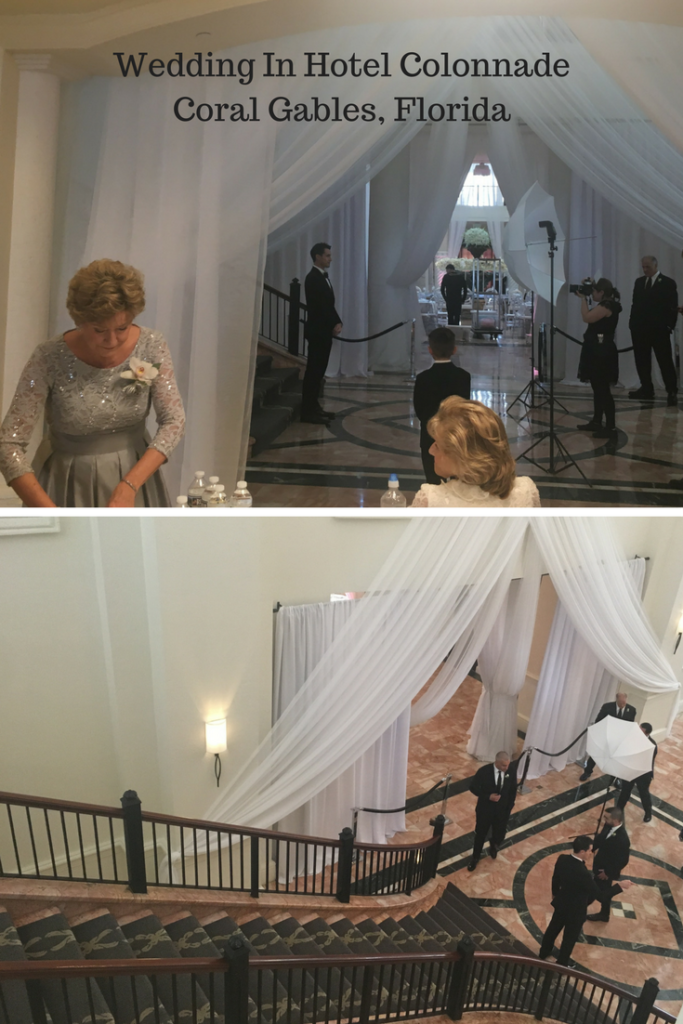 Pre Wedding Ceremony photos at the Hotel Colonnade in Coral Gables, Florida