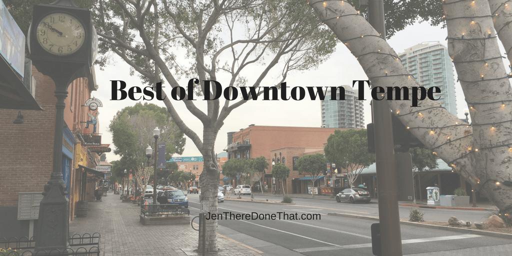Best Restaurants In Downtown Tempe Az