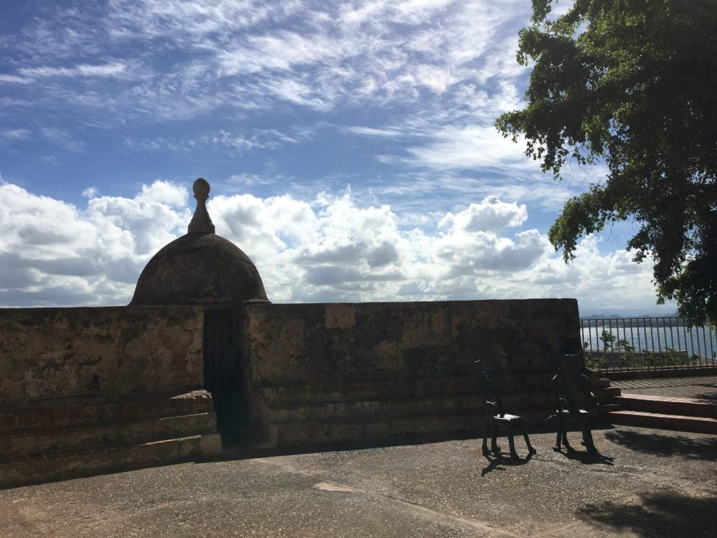 Old San Juan after Hurricane Maria