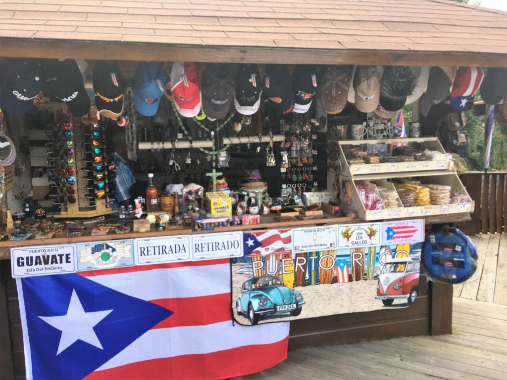 Puerto Rico Souvenirs and gifts from Guavate kiosks
