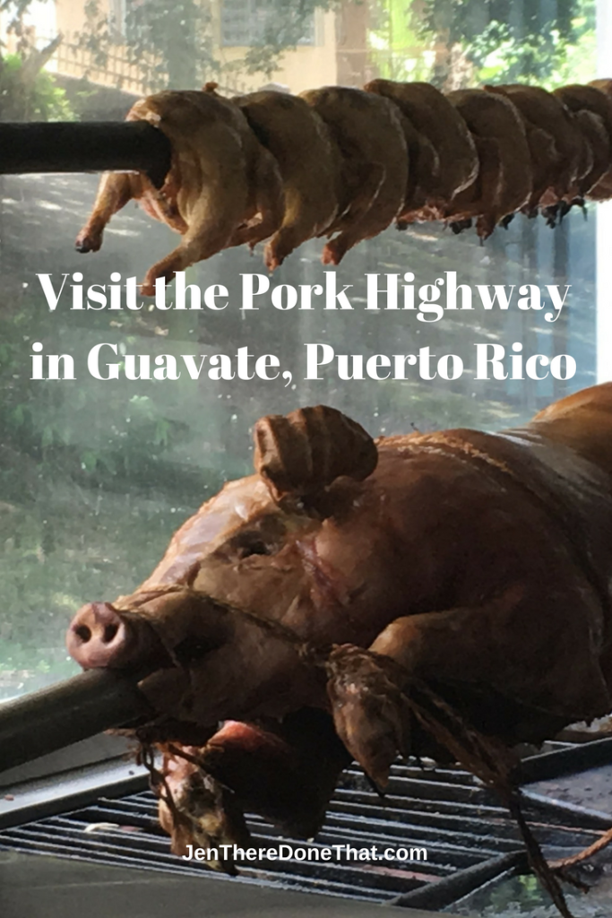 Visit the Pork Highway in Guavate, Puerto Rico