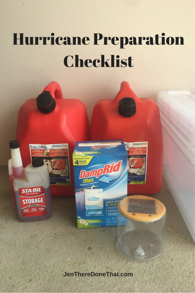 Hurricane Preparation Checklist Pinterest