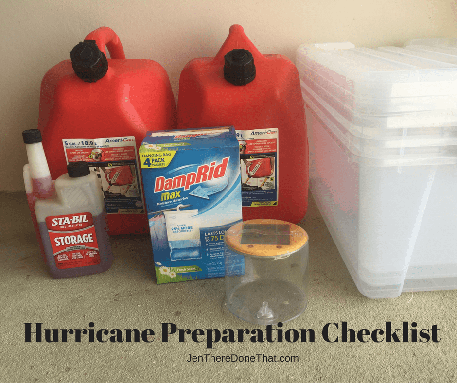Hurricane Preparation Checklist