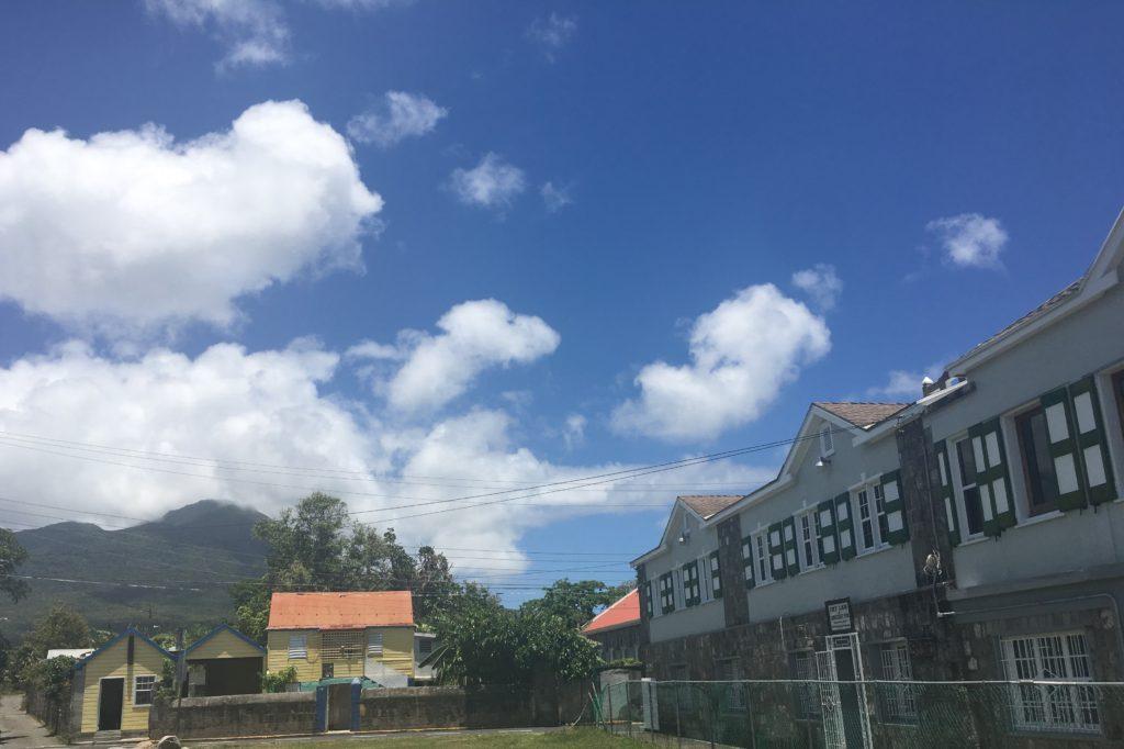 Nevis Peak Charlestown View