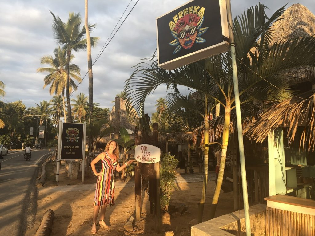 Afreeka Hostel in Las Terrenas, Dominican Republic