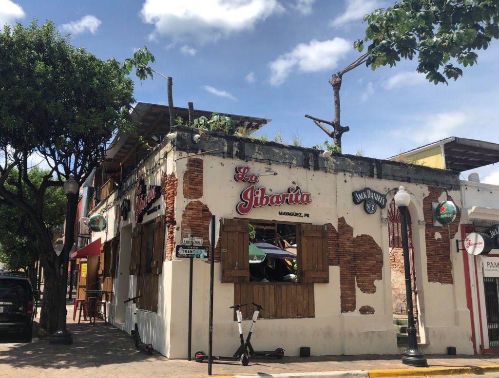 La Jibarita restaurant in Mayagüez, Puerto Rico