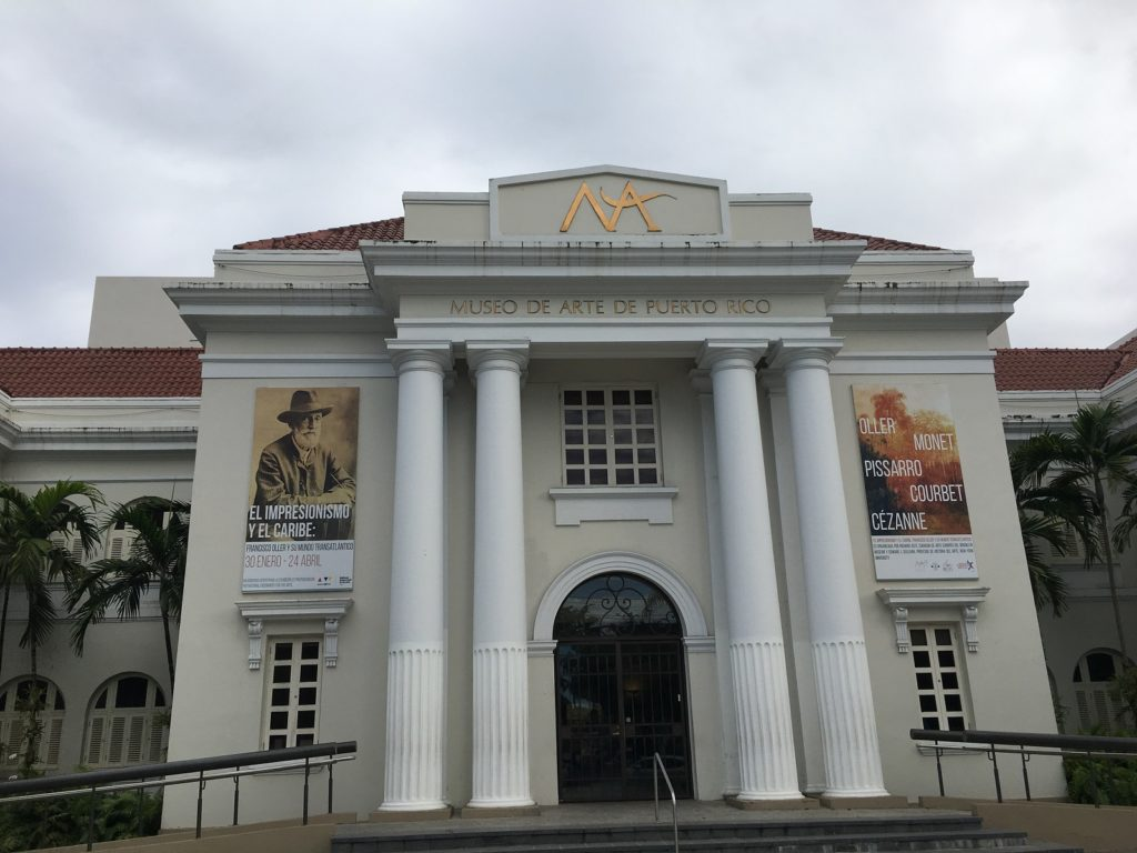 Museo de Art Puerto Rico front entrance
