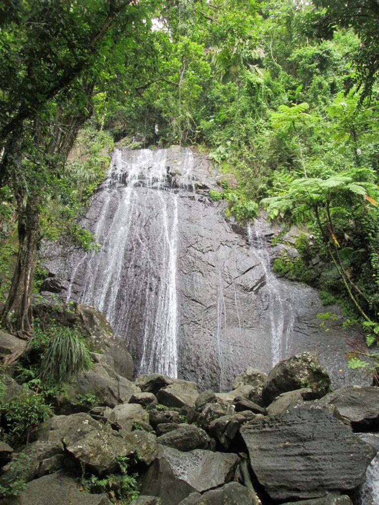 La Coca Falls, El Yunque Rainforest in Puerto Rico