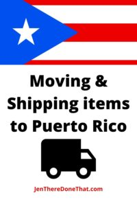 Moving and Shipping items to Puerto Rico. Best Shipping Options for Puerto Rico; Auto transport, Furniture & household goods, Business moves, Island wide moving services, and online shipping options.
